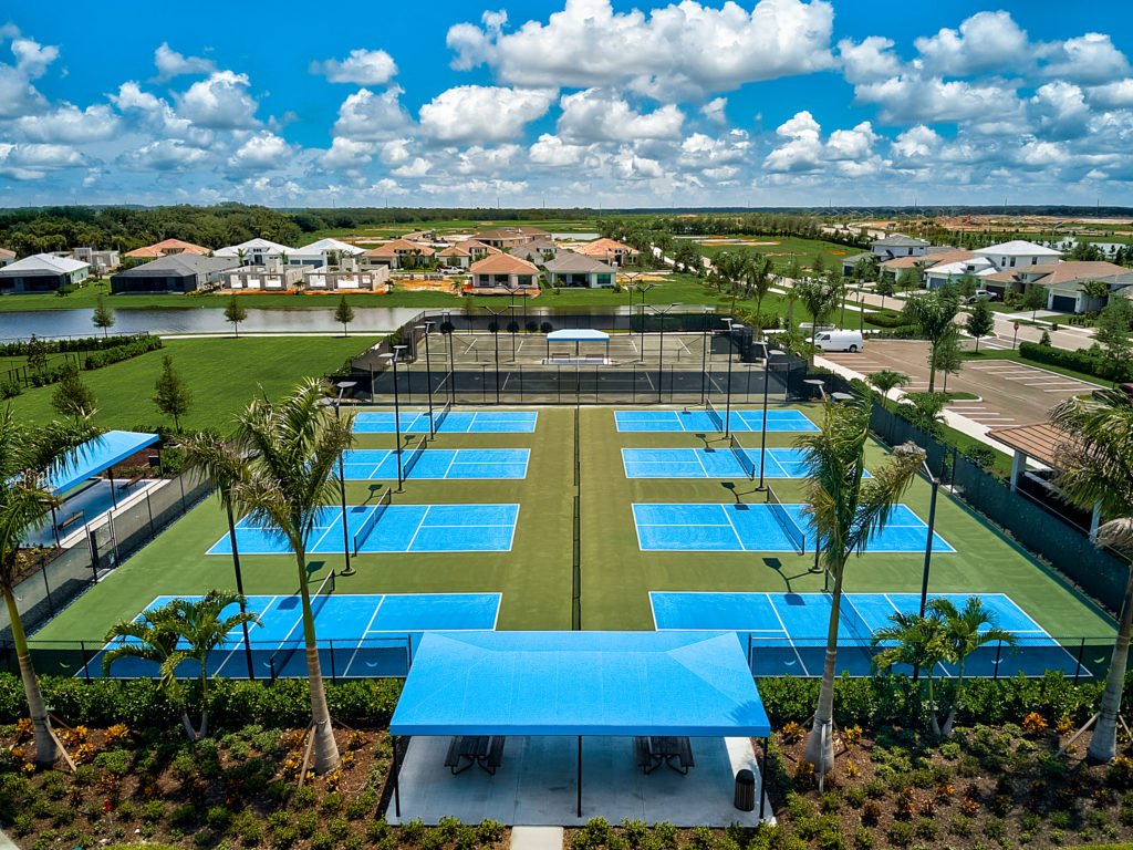 photo of Cresswind Lakewood Ranch Pickleball Courts